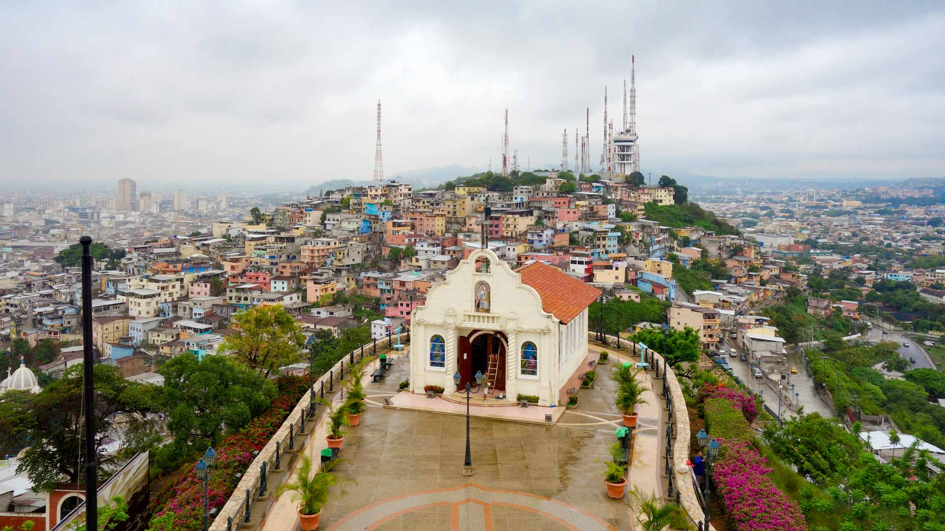 View from Cerro Santa Ana, Guayaquil