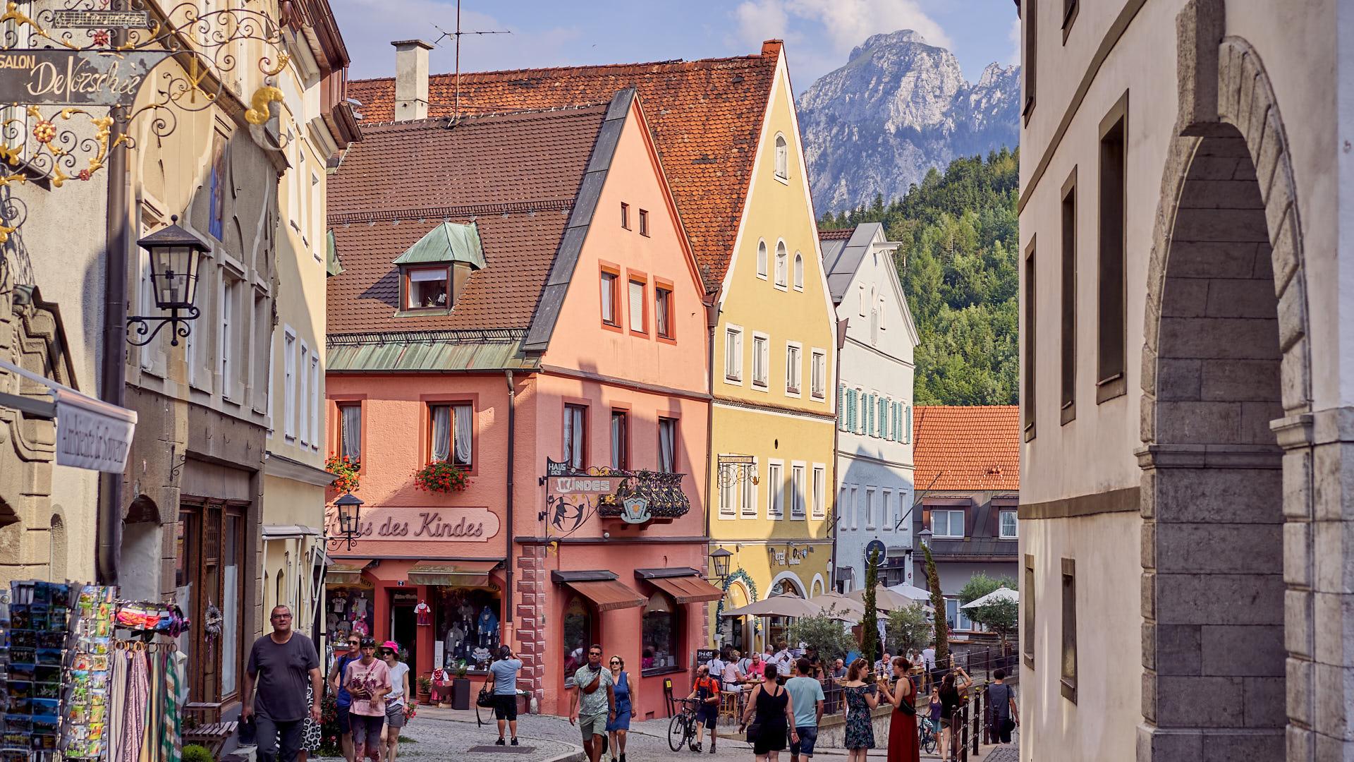Street of Füssen