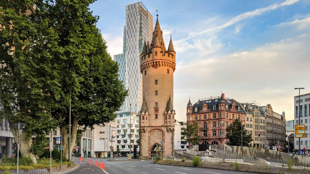 Eschenheimer Turm in Frankfurt