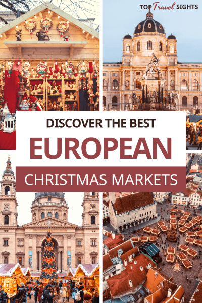 Pinteres graphic for Best European Christmas Markets