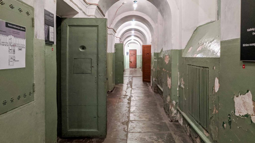 Cells in the Museum of Ocuppation of Vilnius, Lithuania
