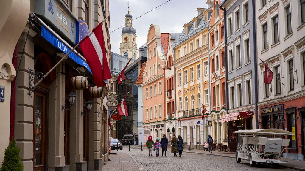 Old Town of Riga, Latvia