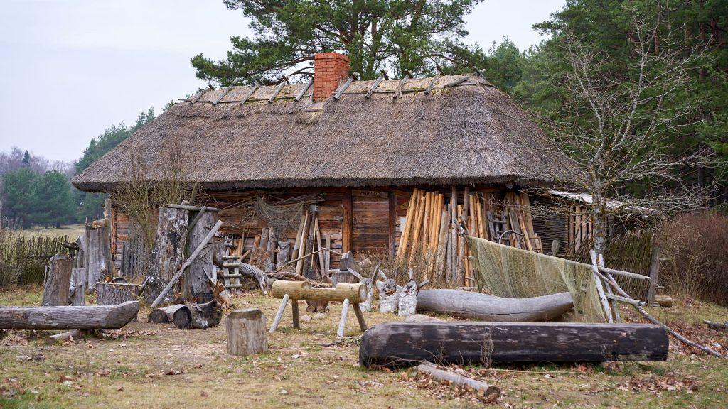 The Open Air Museum in Riga, Latvia