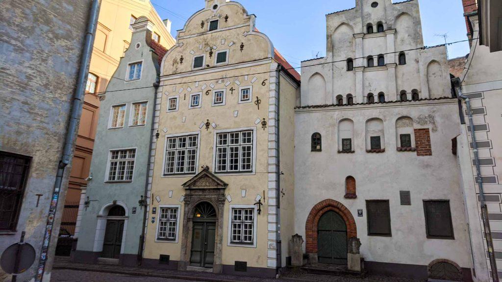 The Three Brothers in Riga, Latvia