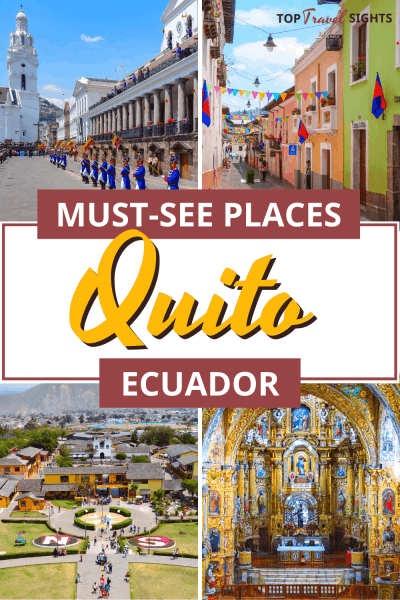 Pinterest graphic for Things to do in Quito