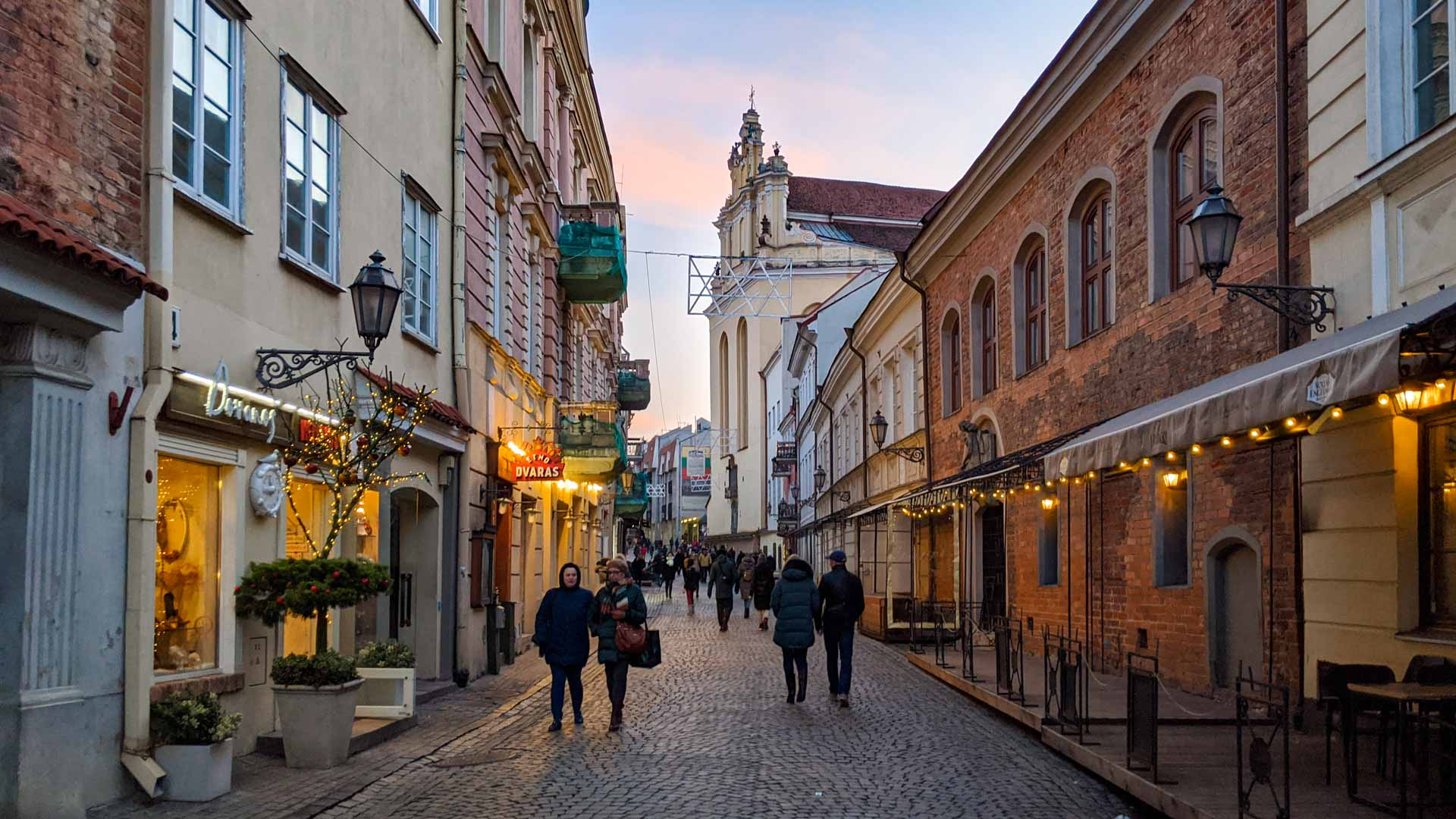 Old Town in Vilnius, Lithuania