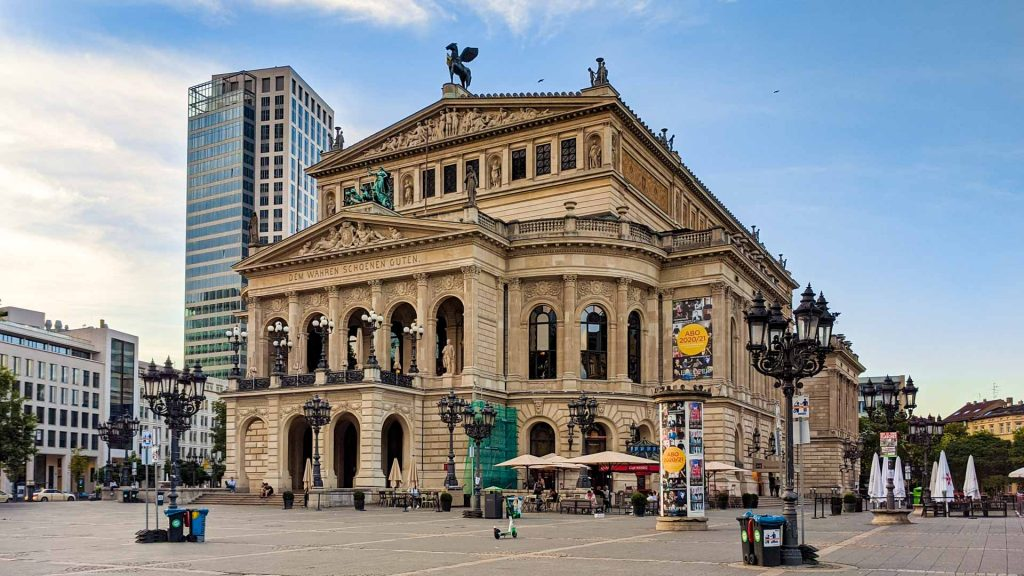 The Old Opera in Frankfurt
