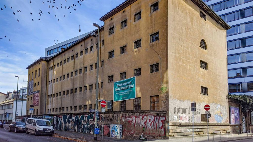 Klapperfeld prison in Frankfurt
