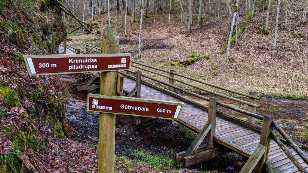 Hiking trails near Sigulda