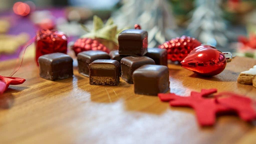 Dominosteine, German Christmas Cookies