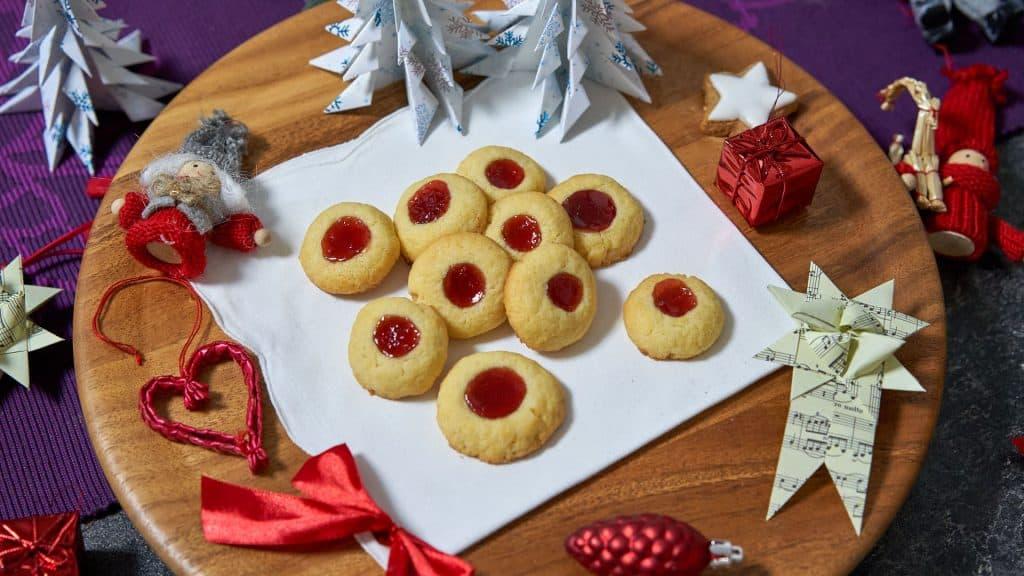 Engelsaugen, German cookies