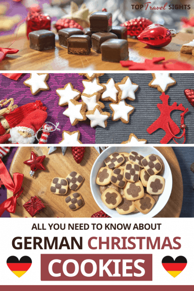 Pinterest graphic for Top Traditional German Christmas Cookies