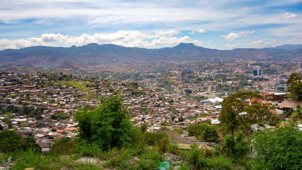 View of Tegucigalpa