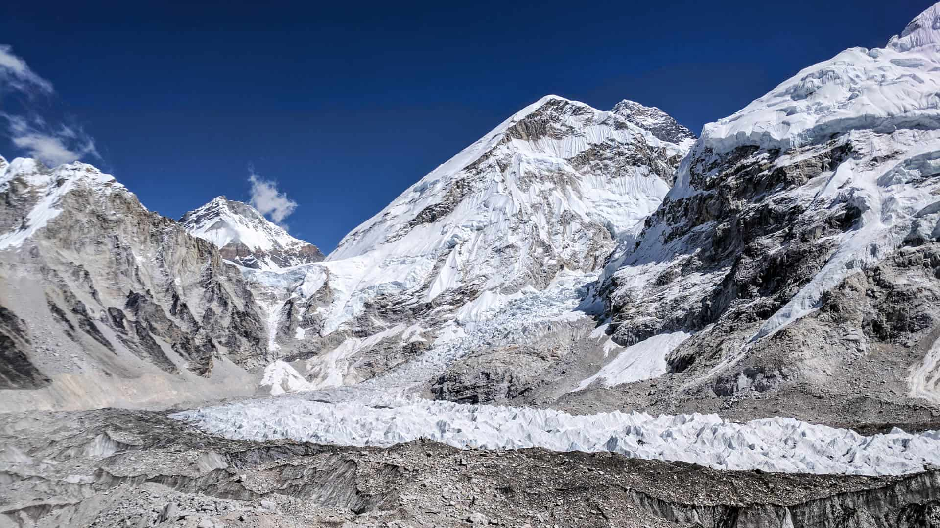 View of the Everest Base Camp