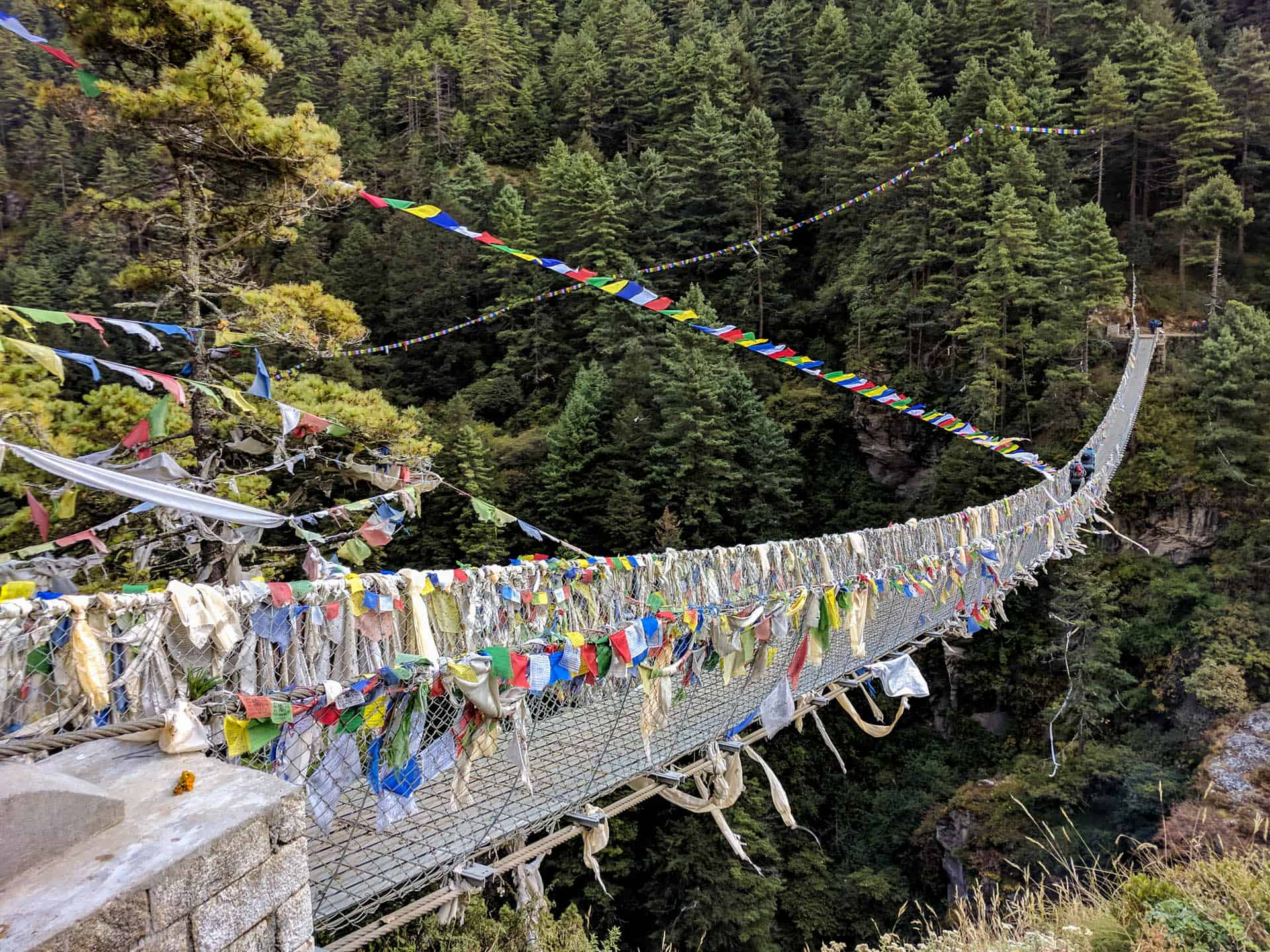 Bridge in the Everest trek