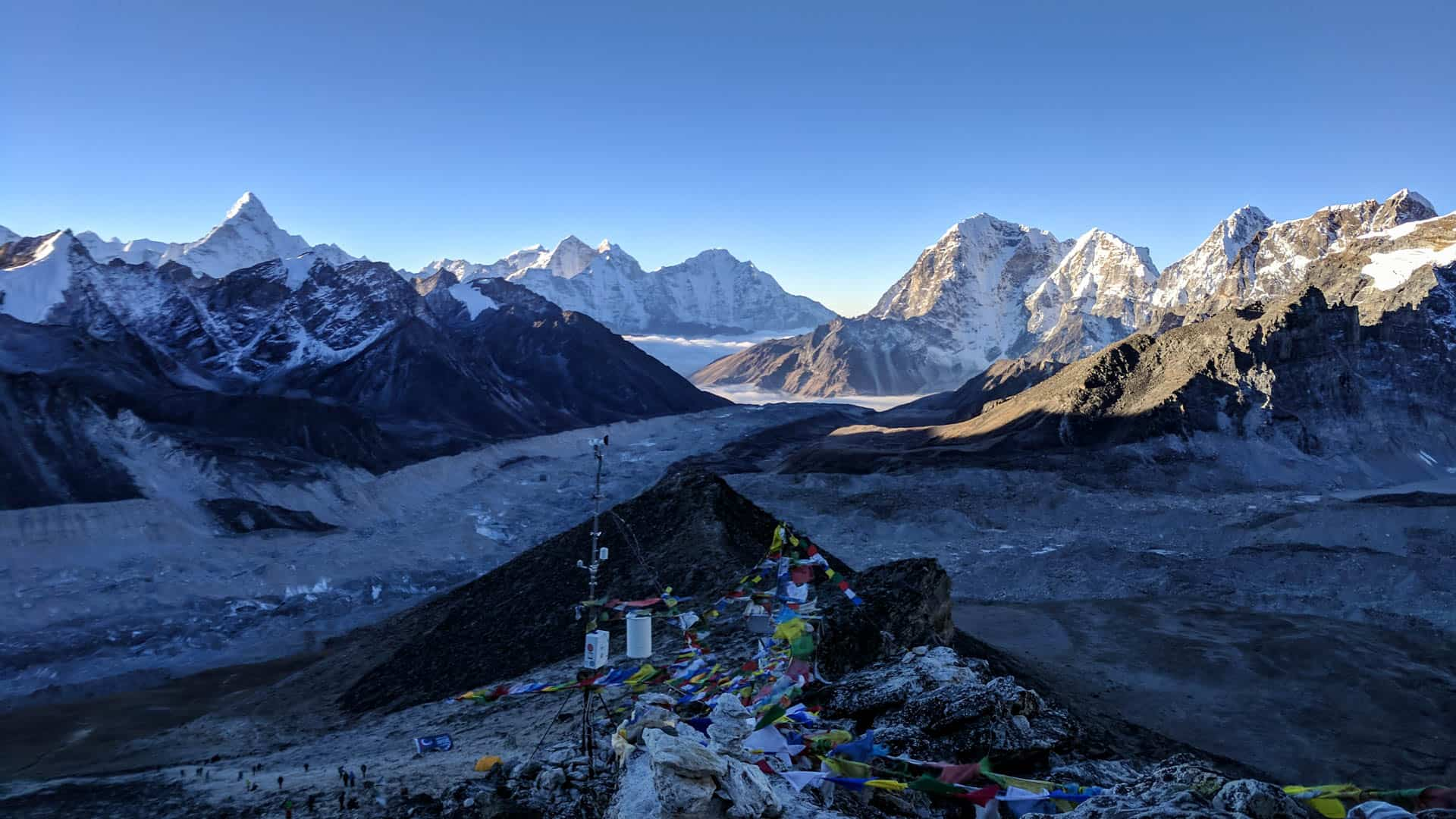 View from the top of Kala Patthar