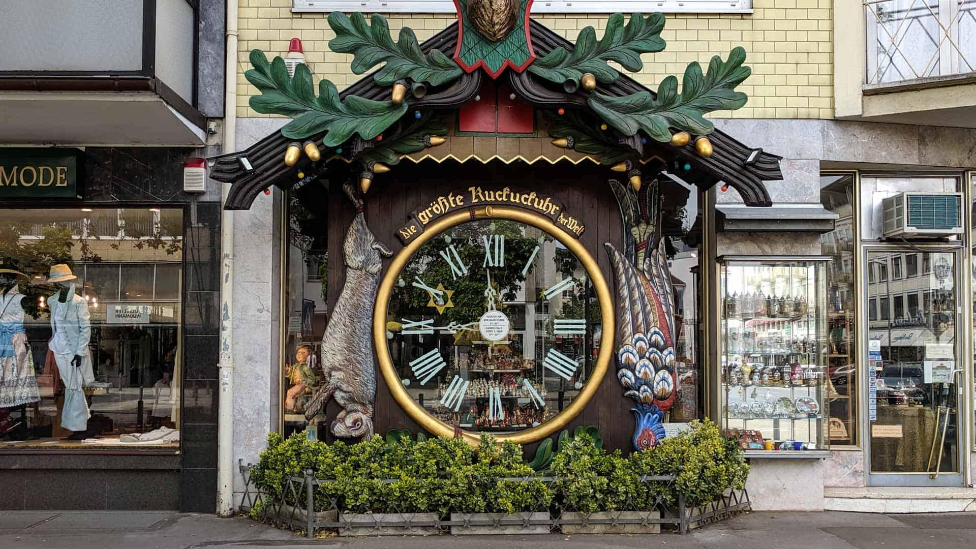 The Giant cuckoo clock of Wiesbaden