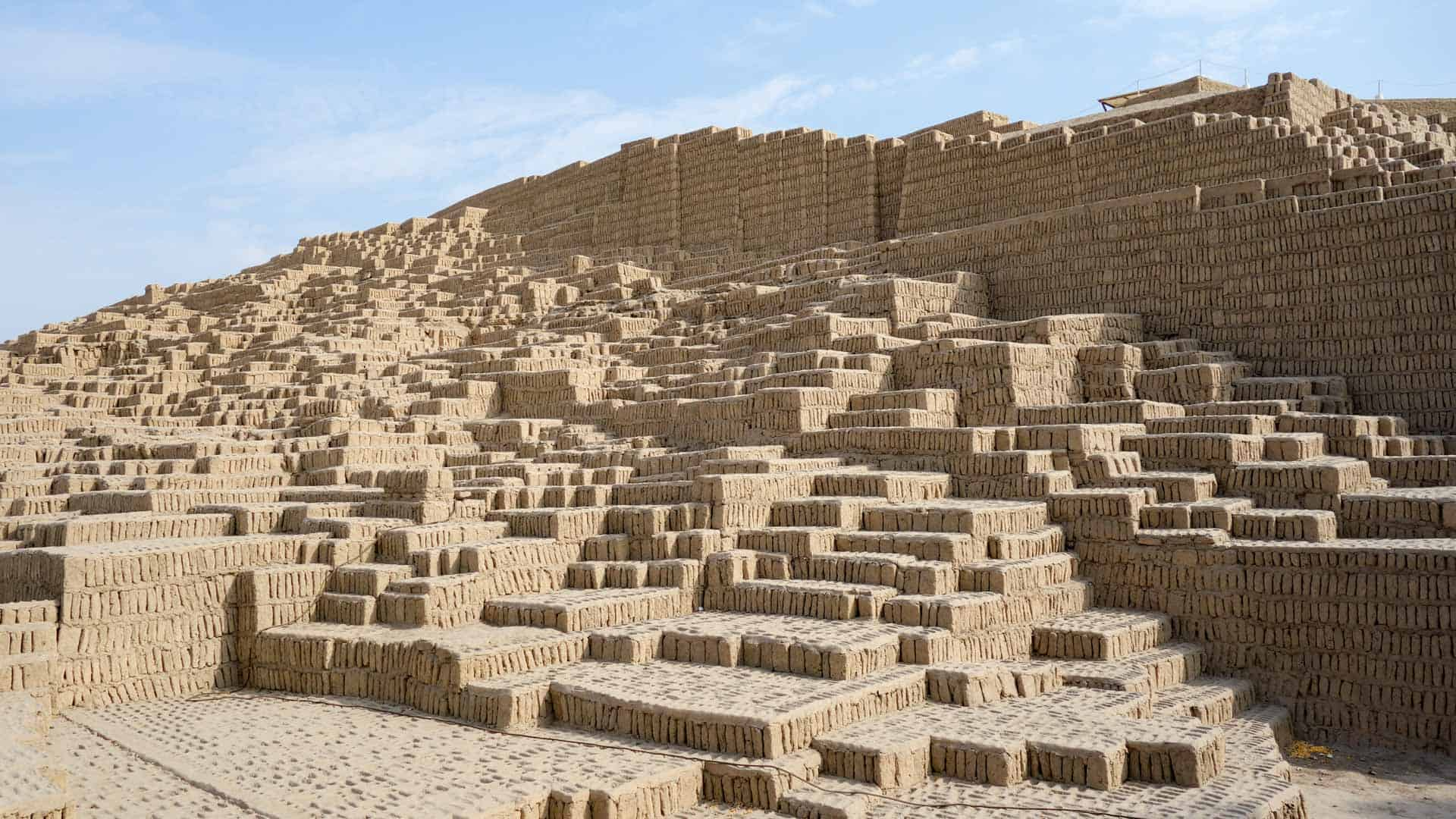 Ruins of Huaca Pucllana near Lima