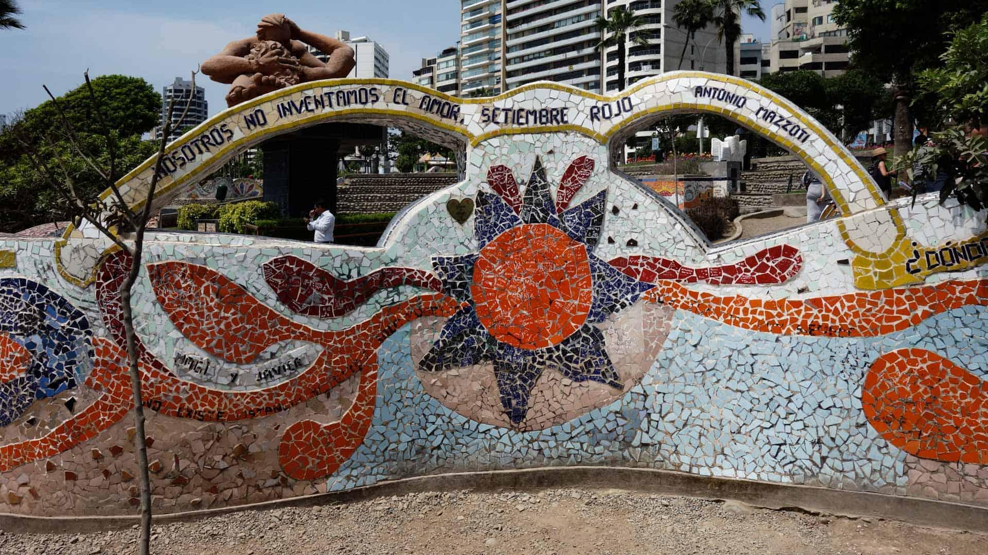 Parque del Amor in Miraflores, Lima, Peru