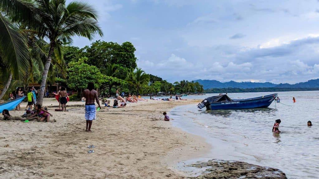 Beach in Puerto Viejo Costa Rica