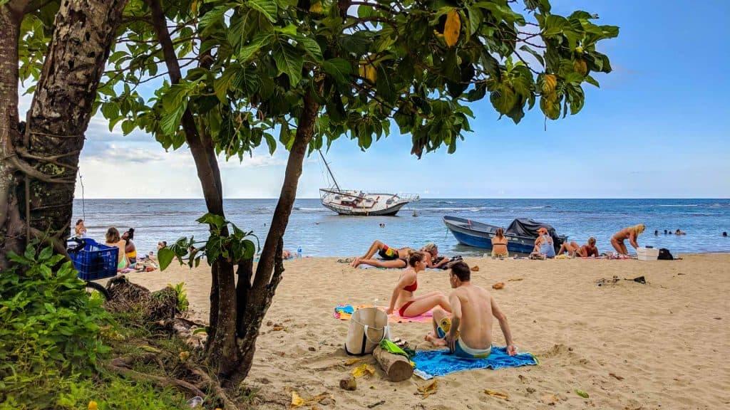 Beach in Puerto Viejo de Talamanca Costa Rica