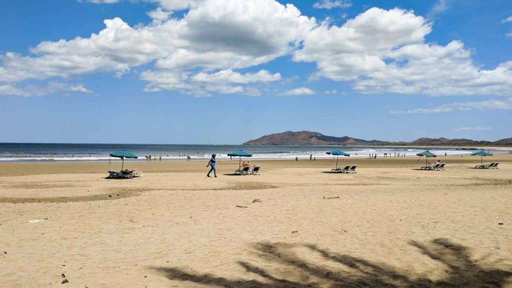 Beach in Tamarindo Costa Rica