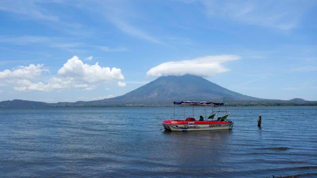 Boat on Isla Ometepe, Nicaragua