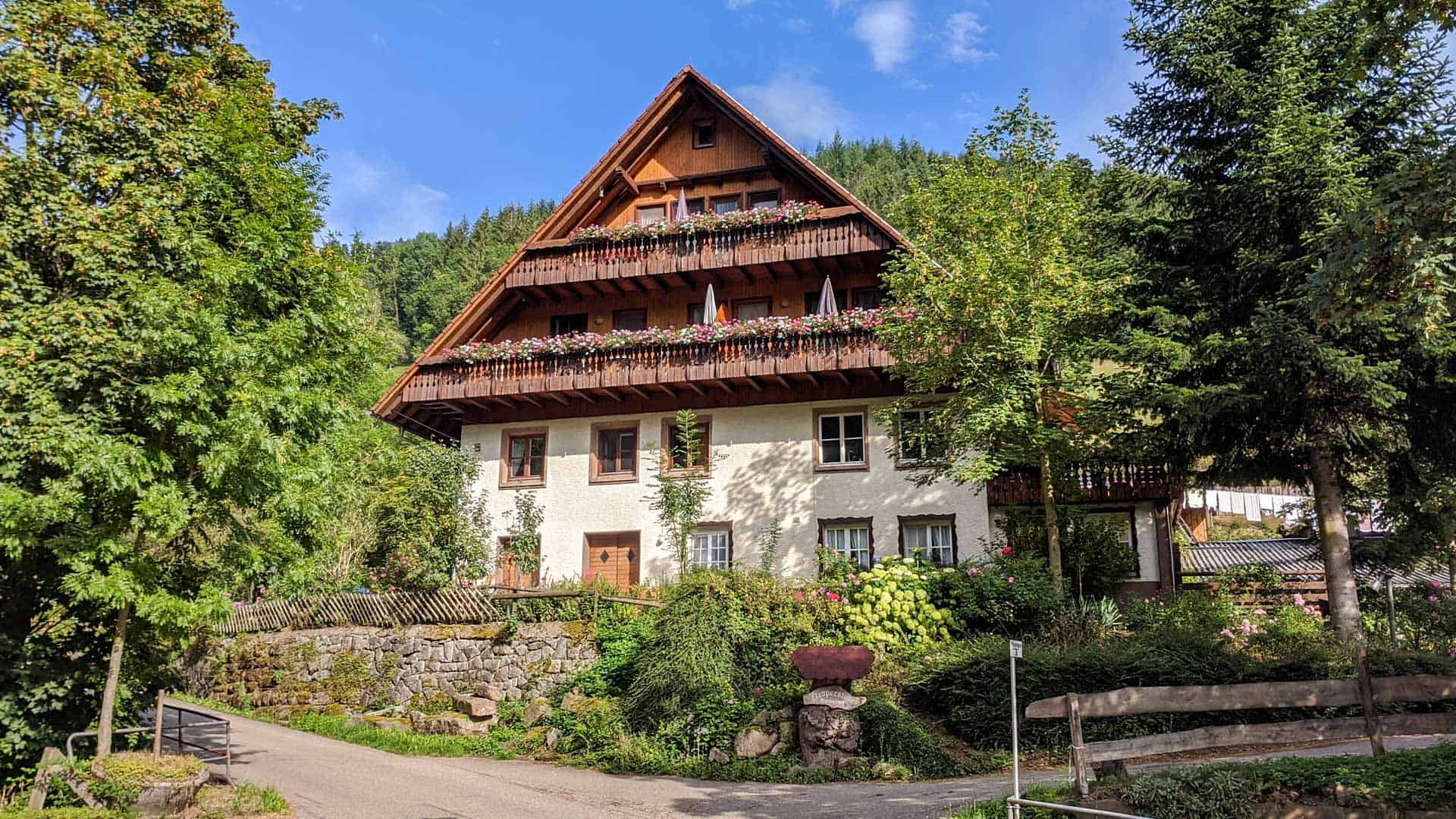 The Bartleshof in the Black Forest