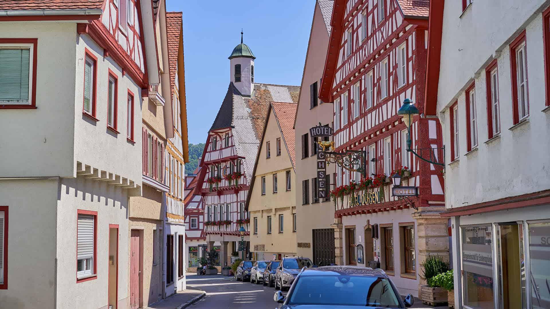 Blaubeuren street