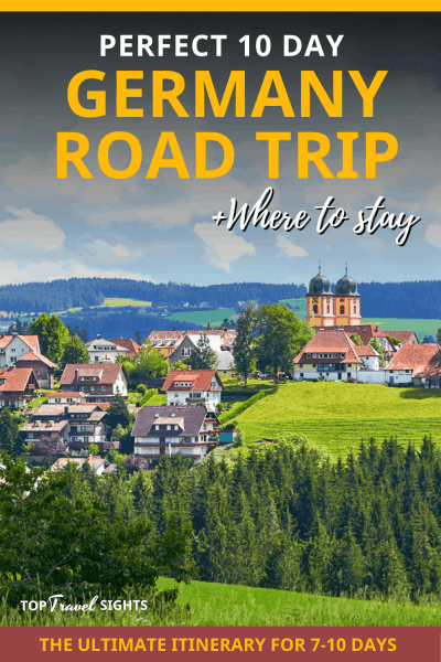 Pinterest Graphic for Germany Road Trip