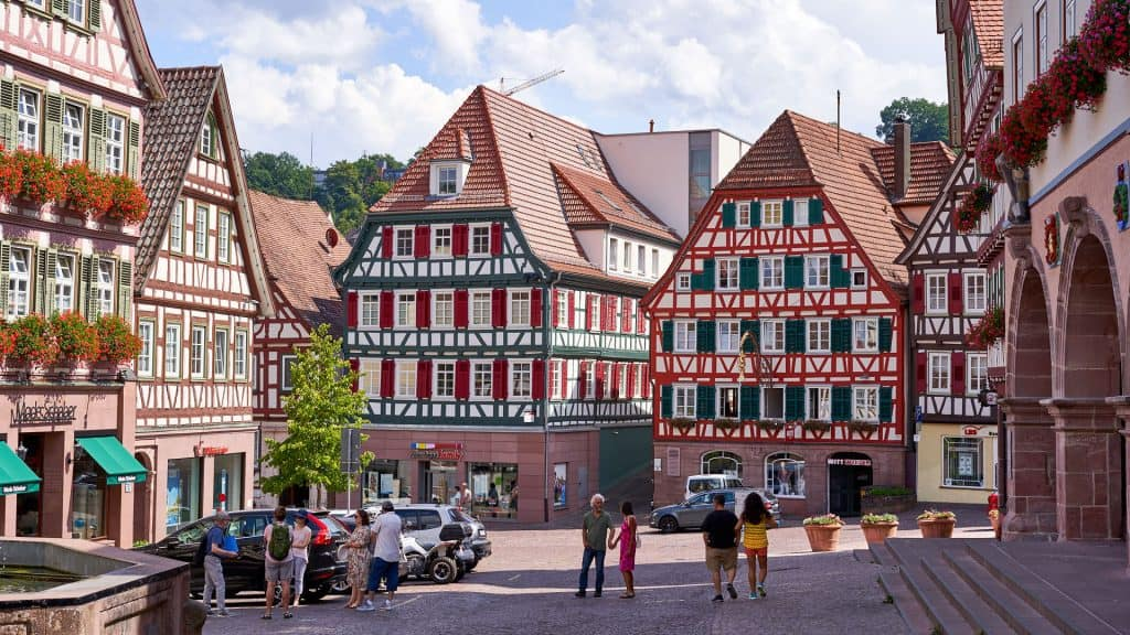 Houses in Calw