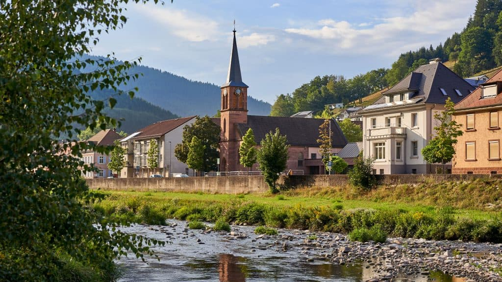 Wolfach in the Black Forest