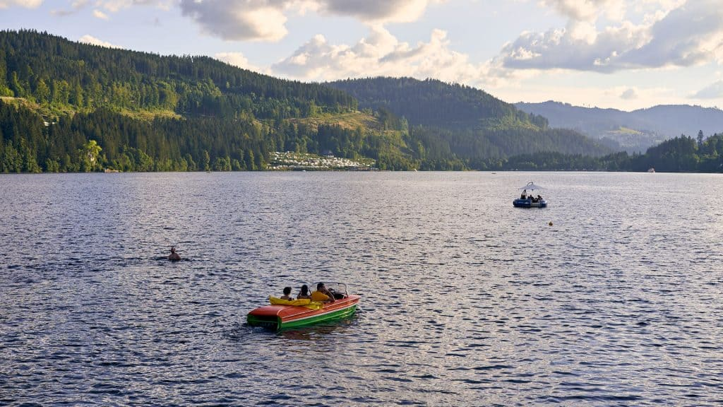 View of Lake Titisee