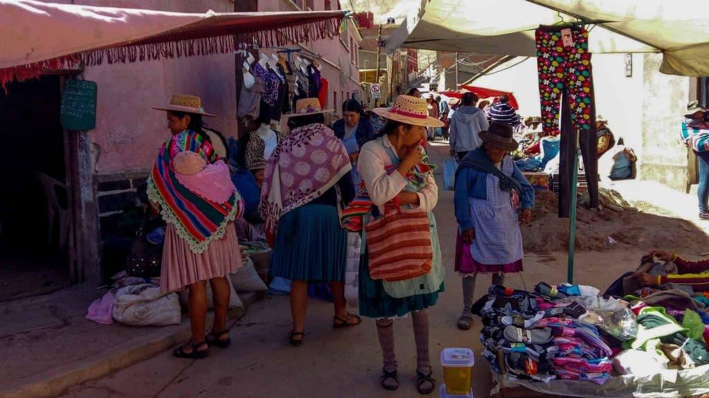 The Miners Market in Potosi, Bolivia
