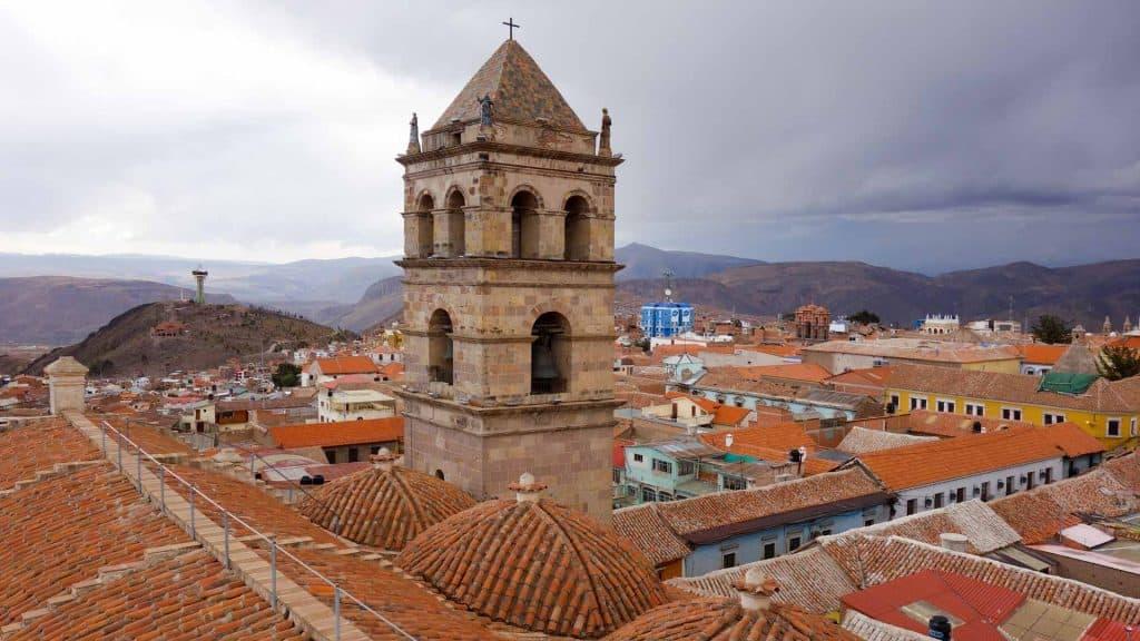 View of Potosi, Bolivia