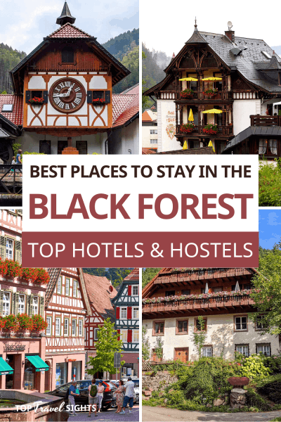 Pinterest Graphic for Where to Stay in the Black Forest reduced