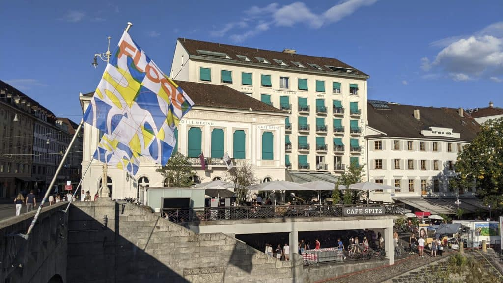 Exterior of the Sorell Hotel Merian in Basel