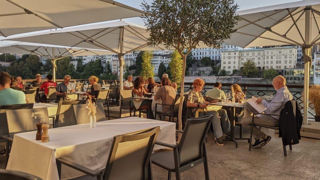 Brasserie Cafe Spitz at the Sorell Hotel Merian