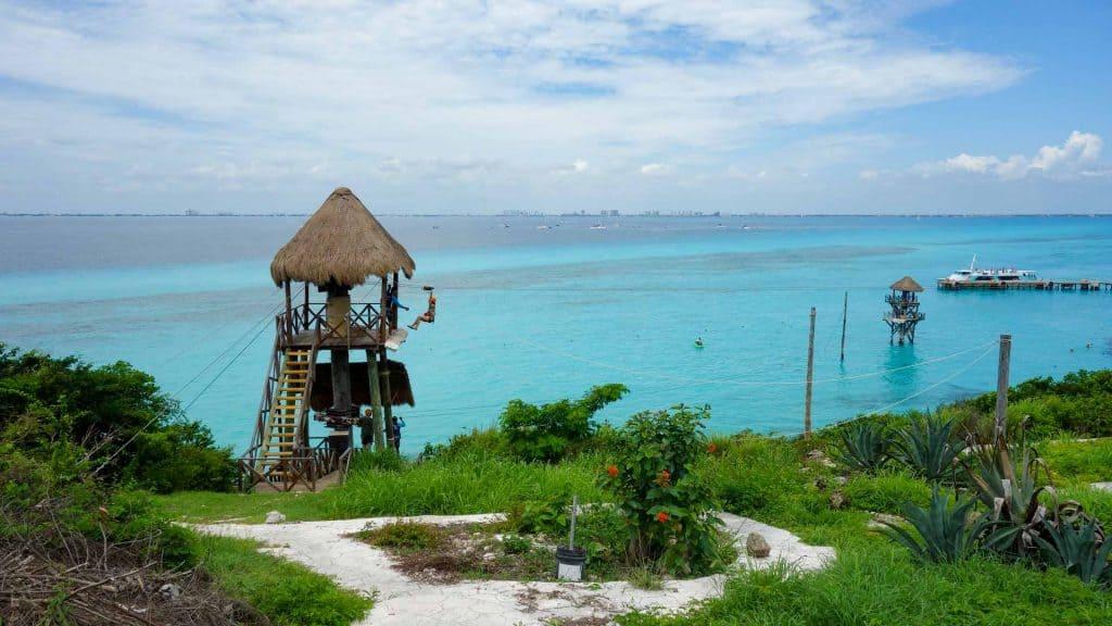 Zipline in Yucatan